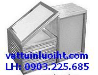 Chuyên sản xuất khung nhôm in lưới